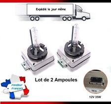 2X AMPOULES D1S 35W 12V 6000K FEU XENON LAMPE BMW E60, E61 AVEC PHARE BI XENON