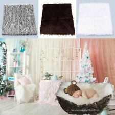 Newborn Baby Child Photography Backdrops Photo Props Rugs Blanket Warm Tree
