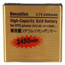 2450mAh Standard Gold Battery for HTC Sensation XL G18 G21 G14 EVO 3D Sprint   S
