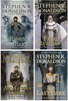 Last Chronicles of Thomas Covenant Series Collection Set 1-4 Stephen R Donaldson