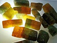 Unique New Find Raw Rough Bi-color Sapphire Corundum Rare Unheated Untreated