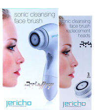 Jericho Set Sonic: Cleansing Face Brush +  Heads 3 Unit