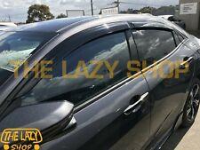 Weathershields, Weather Shields for Honda Civic Hatch 5D 16-20 Window Visors #T