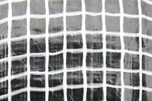 Clear Heavy Duty Tarpaulin Waterproof Cover Ground Sheet Transparent Tarpaulin