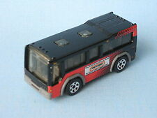 Matchbox City Bus Red and Black Tourist Holiday Toy Model Car 70mm