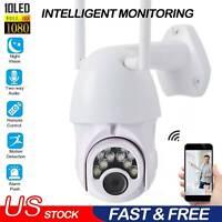 Wireless Camera 1080P HD IP Security Camera IR Night Vision WIFI Waterproof PTZ