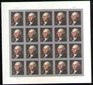 US. 4504. 20c. George Washington. Sheet of 20. MNH. 2011