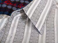 Robert Graham Grey Striped Shirt Large 12624