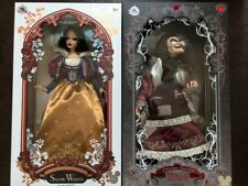 "D23 EXPO 2017 Disney Store SNOW WHITE & EVIL QUEEN Old hag DOLL 17"" EXCLUSIVE LE"