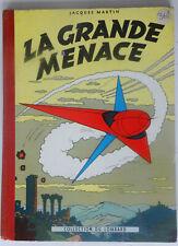 BD LEFRANC la grande menace tome 1b edition cotee  1957  TBETAT  (Y1GB38