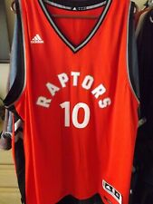 New Adidas DeMar DeRozan #10 Raptors Red Swingman Jersey - sz 3XL