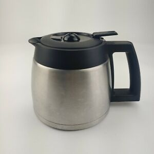 Capresso Coffee Team TS 10 Cup Maker Model 465 Stainless Steel Thermal Carafe