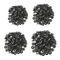 30x Snap Fasteners Press Stud Button Sewing For Leather Coat Jeans Bags