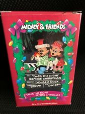 New ListingEnesco Disney Mickey And Friends 'Twas The Night Before Christmas Ornament