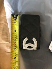 chanel cambon black Wallet CC Holder iPod