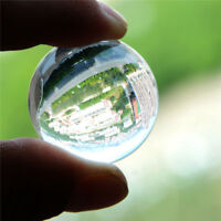 Asian Quartz Transparent Clear Artificial Crystal Healing Ball Sphere  NTPK