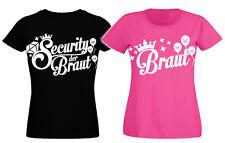 Junggesellinnenabschied T-Shirt Junggesellenabschied Security Braut Damen xxx