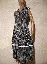 CHIC VINTAGE ROBE 1950 ZAZOU VTG DRESS 50s KLEID 50er ABITO ANNI 50 RETRO (38)