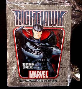 Nighthawk Squadron Supreme Marvel Comics Bust Statue New 2008 Bowen Designs