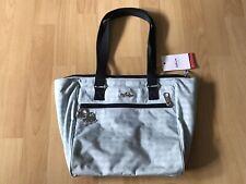 Kipling Handtasche Schultertasche Tasche Hellblau Florizel Neu