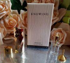 ❤️Estee Lauder Knowing Refillable Gold tone Purse Spray 7.5ml .25 oz Bottle