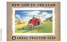 Post Card PUBLICITE ADS SHELL OIL n53 ILLUSTRATION HAROLD HUSSEY