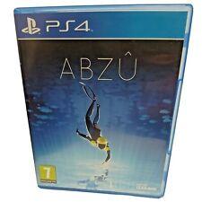 Abzu Playstation 4 ps4. Giant Squid 505 Spiele Play Station. ein schönes Spiel...