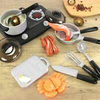 Kids Kitchen Toy Cooking Simulation Pretend Play Food Cutting Set Boy Girl 3-7Y