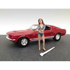 AMERICAN DIORAMA 1:18 FIGURE CAR WASH GIRL - JESSICA AD-23843