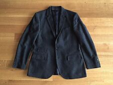 J. Crew Ludlow Black Gray Tweed 100% Wool Blazer Suit Jacket 42 R $425