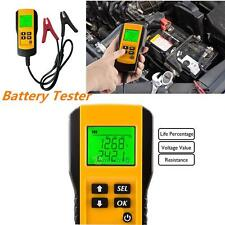 12V Vehicle Digital Automotive Car Battery Load Battery Tester Analyzer Checker