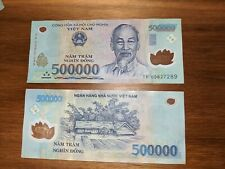 500,000 Vietnam Dong. 10 Available