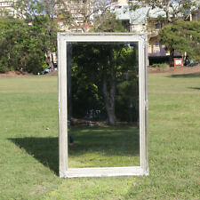 Wooden Large Silver Mirror on Mirror with Beaded Frame 111CM * 69CM