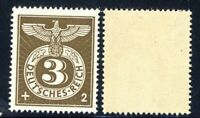1943 Germany Third Reich WW2 Swastika Eagle 3+2 stamp MLH OG