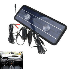 Solar Trickle Panel 12V 4.5W Power Portable Battery Charger Car/ Boat