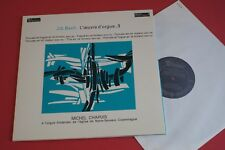 MB 843 Valois Stereo J.S Bach Organ Works Michel Chapuis Vol.3 FRANCE LP 1967