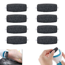 8 Pack Extra Coarse Replacement Refill Roller Heads Head For Amope Pedi Perfect
