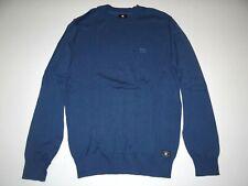 New DC Shoes Mens Sabotage Cotton Long Sleeve Crew Knit Sweater Medium