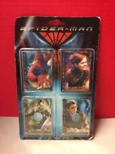 Spider-Man Collectible Cd Cards Set Of 4 2002