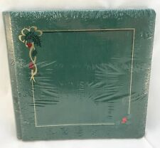 Creative Memories 12x12 Premiere Album Evergreen Christmas Holly w/pages inside