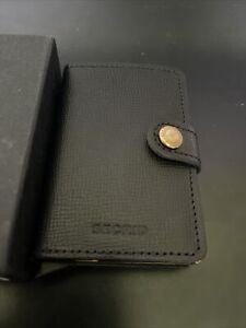 secrid miniwallet crispie black-gold