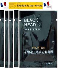-5 MASQUES  ANTI POINTS NOIRS/ Black Head Pilaten Charbon Soins Visage -