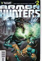VALIANT COMIC ARMOR HUNTERS #2 NM #102266-9 BR1
