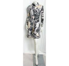 Vintage 1970s LEONARD Dress Silk Jersey Print Belted Chemise