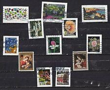 USA....album kaart met gebruikte postzegels laatste tijd op papier