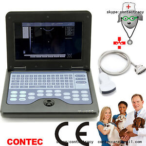 Veterinary Portable Ultrasound Scanner Machine,convex Probe Vet Animal Pregnancy