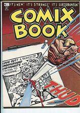 COMIX BOOK LOT(3) 1 2 3 HIGH GRADE  FREAS WOLVERTON SPIEGELMAN PLOOG 1974/5