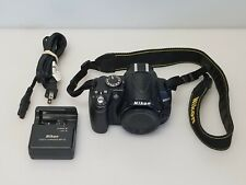 Nikon D3000 10.2MP Digital SLR Camera - Body, Battery and Charger