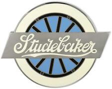 Studebaker Radiator Porcelain Medallion Emblem Hubcap Belt Buckel etc.