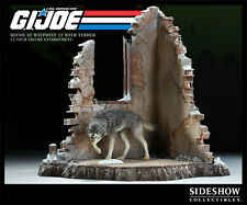 SIDESHOW G.I. JOE RECON AT WAYPOINT WITH TIMBER STATUE FIGURE BUST SET